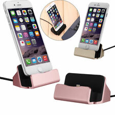 Desktop Charger STAND DOCK STATION Sync Charging Cradle For iPhone 6S 7 Plus 8 x