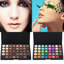 Cosmetic Matte Eyeshadow Cream Eye Shadow Makeup Palette Shimmer 120 Couleu DJX8