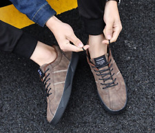 Korean Fashion Men Boy Sneakers Sport Casual Shoes Comfort Flats Outdoor Lace Up