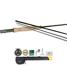 TFO BVK Series 4PC Fly Rod and Prism Cast Reel Outfit With Fleece Case