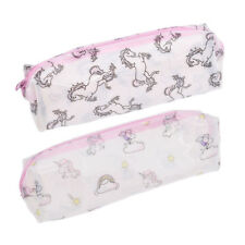 Unicorn Pencil Case Transparent Make Up Cosmetic Bag Pouch Purse Bag Travel Gift