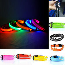 Mascota Suministros LED Gato Collar De Perro Luminoso Seguridad GLOW Flash