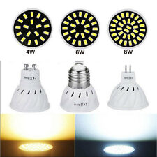 4W 6W 8W 220V 110V LED Spotlight GU10 MR16 E27 5733 SMD Lamp Bulb Light Bright