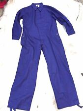 German Army Surplus Overalls Heavy Duty 100% Cotton Blue New