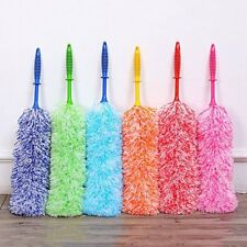 Multipurpose Feather Duster Dust Wiper Bendable Fiber Household Cleaning Tool L@