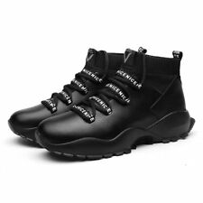 Mens High Top Sports Shoes Athletic Sneakers Breathable Outdoor Running Casual