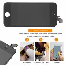 TOUCH SCREEN FRAME VETRO LCD DISPLAY RETINA SCHERMO PER iPhone 5 RETINA UP