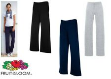 Fruit of the Loom Lady-Fit correr Terry Francés pantalones joggers