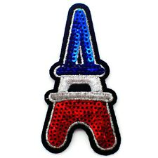 PARCHE PARA COSER PARIS MODE TORRE EIFFEL TOWER PLANCHAR ROCKABILLY BRILLANTE