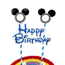 MICKEY MINNIE MOUSE CAKE BUNTING Banner Topper Decoration Birthday Party