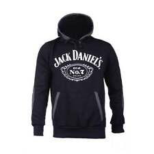 Jack Daniels Classic Logo Pullover Hoodie Shirt Rockabilly Old No. 7