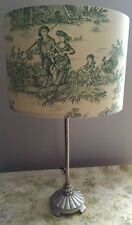 Pastorale Countryside Toile De Jouy Lampshade