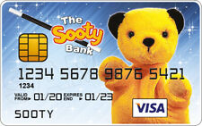 Sooty Novelty Plastic Credit Card