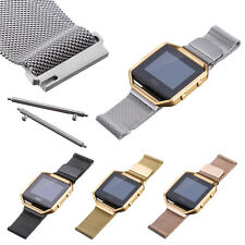 L/Small Milanese Magnetic Loop Metal Strap Watch Band For Fitbit Blaze Tracker