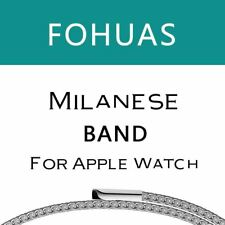 milanese loop for apple watch Series 1 2 band for iwatch stainless steel strap M