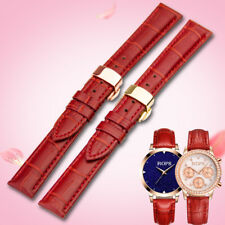 Rops Women Fashion Genuine Leather Watch Band Strap 14Mm-18Mm For Tissot/ Casio/