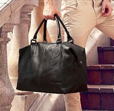 Fashion Genuine Leather Men Travel Bag Carry On Luggage Bag Men Leather Duffel B