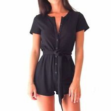 Yjsfg House Sexy Short Rompers Women Jumpsuits 2017 Summer Short Sleeve V-Neck S