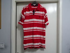 MENS US POLO ASSN RED MIX SHORT SLEEVE POLO RRP-$44.00