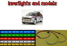 RC Car Under Glow UnderBody LED Lighting KIT Neon Truck UnderSide Chassis 9v
