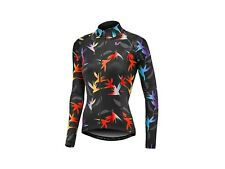 LIV PARADISA WIND JACKET BLACK/RAINBOW giacca donna ciclismo bici mtb road corsa