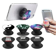 KING QUEEN POPSOCKET Stand Supporto Auto GRIP Smartphone iPhone Samsung Huawei