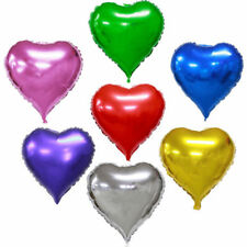 Happy Valentines Day I Love You Balloons Heart Shape His/Her Party Gift Baloons