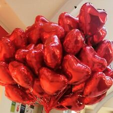 Heart Love Valentines Day Romantic Foil Balloons Gifts Party Decorations baloons