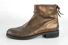 TOMMY HILFIGER mayyke Mujer Piel Botines Bronce CHELSEA BOOTS 37
