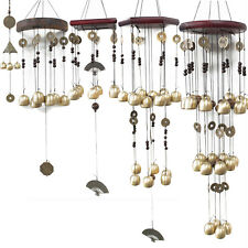 Feng Shui Wind Chimes - Bells and Lucky Coins - Home Positive Energy Attraction