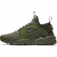 NIKE AIR HUARACHE RUN ULTRA - MEDIUM OLIVE/CARGO KHAKI - 819685 204 - UK 8,9,10