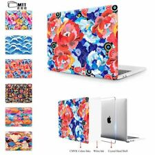 """Print Colorful flowers Case For New 2017 Macbook Pro 13"""" 15"""" Touch Bar"""