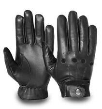 Full Finger Real Leather Car Motorbike Bus Driving Gloves Classic Chauffeur