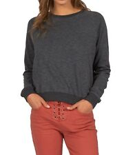 Billabong Essential Sweatshirt - Black - Ladies Sweatshirts & Jumpers