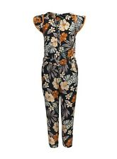 Cute Pattern Flower Printed Jumpsuit Pink Ebay