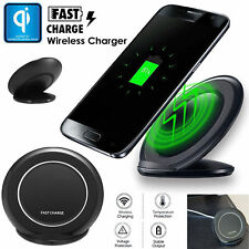QI Wireless Charger Fast Charging Samsung Galaxy S7,Edge,S7,Note,8,S8 plus,S8,S6