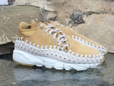 Nike Air Footscape Woven Chukka QS PRM UK 7-10 Flat Gold max 95 DS deadstock