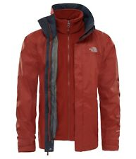 THE NORTH FACE Evolve II TRICLIMATE GIACCA UOMO, herren-doppeljacke, brandy