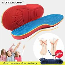 Children Orthopedic Insoles Shoes Flat Foot Arch Support Orthotic Pads Correctio