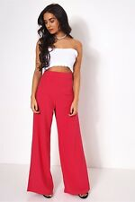 The Fashion Bible Pink High Waisted Wide Leg Trousers