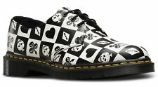 Dr Martens DM 23510112 1461Z checkerboard playing cards 3 eye shoe size 3-13UK