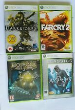 Juego xbox 360 Darksiders Bioshock 2 farcry 2 Assassins creed