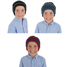Kids Stripped Beanie Hat