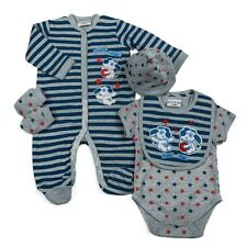 WATCH ME GROW Baby Boy 5 Pce Layette Outfit Set in Gift Bag Age 3-6m & 6-9m BNWT