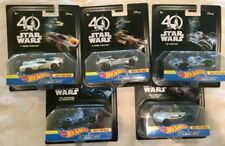 2016 Hot Wheels Star Wars 40th Carships