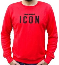 Dsquared2 ICON Mens  Sweatshirt in Red BNWT
