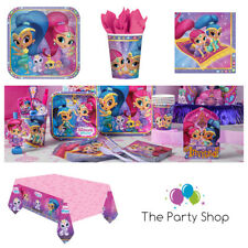 Shimmer and Shine Party Tableware Decorations Favours Games Balloons