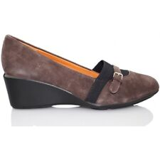 GEOX NEW TAYLOR MOCASIN CUÑA  MARRON