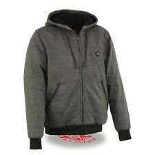 Milwaukee Performance Men's Grey HEATED Hoodie w/ Rechargeable Battery Pack