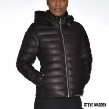 Women's Steve Madden Down Hooded Jacket  New Small